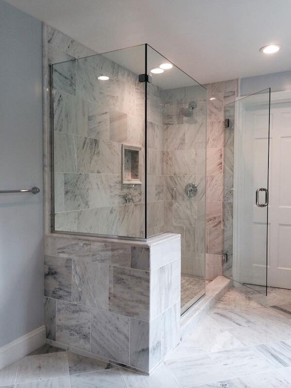 Frameless Corner Glass Shower Doors.Frameless Corner Shower Enclosures